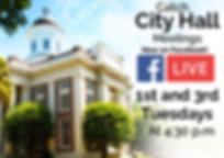 City Hall Live Meetings