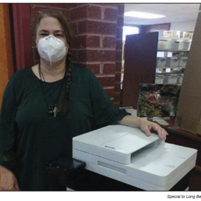 Library gets new copy machine