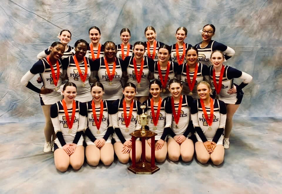 Pearl High School Dance Team MHSAA State Champions