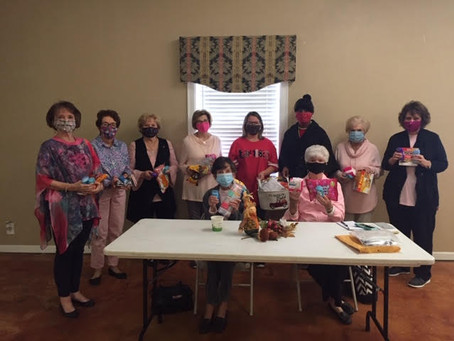 GFWC-MFWC Florentine Club meeting at the Florence Community Center
