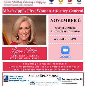 Mississippi's First Woman Attorney General To Speak At WE: Women Educating, Enriching Program