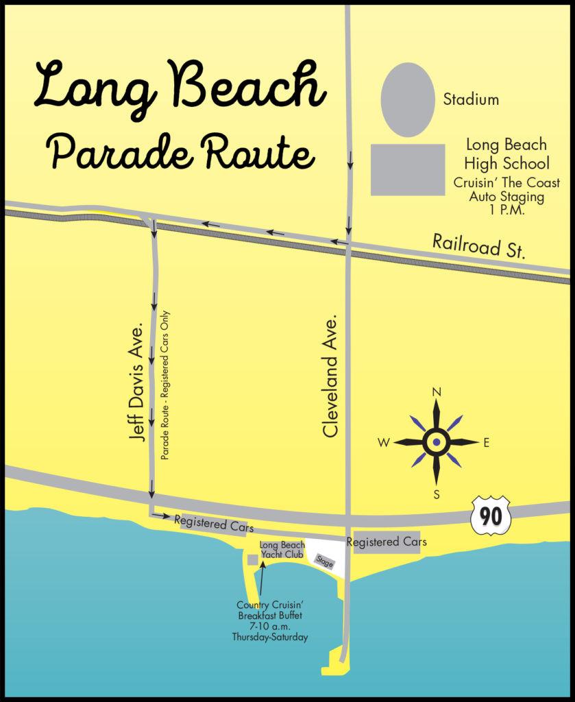 Long Beach Parade Route