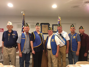 American Legion Post holds officer initiation