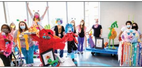 The Imagination Monster Project: PJHS and Children's of Mississippi join forces