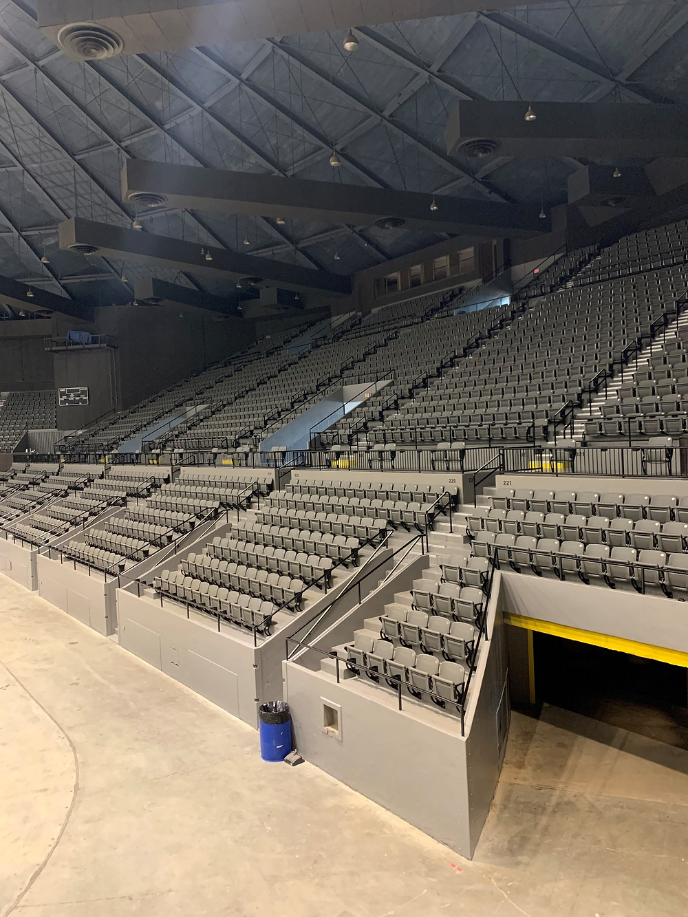 The Mississippi Coliseum is the hub for several activities and events that take place on the Fairgrounds every year. It's expansive arena floor of 25,449 square feet is complete with sound and lighting facilities and boasts of seating for 6,500 people at a time.