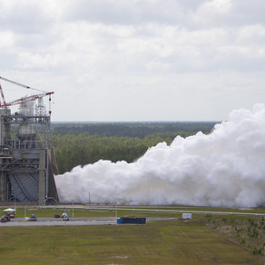 NASA Continues RS-25 Engine Testing for Future Artemis Missions