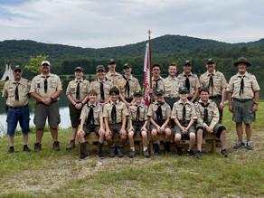 Scouts BSA Troop 321 enjoys multiple summer adventures