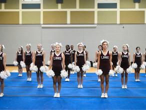 LBHS Bearcat Cheerleaders Hold Camp In Long Beach