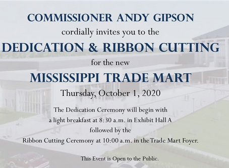 Dedication and Ribbon Cutting to Mark Grand Opening of the New Mississippi Trade Mart