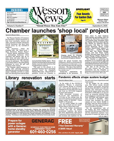 Wesson News sep 2020 FINAL WEB FRONT PAG