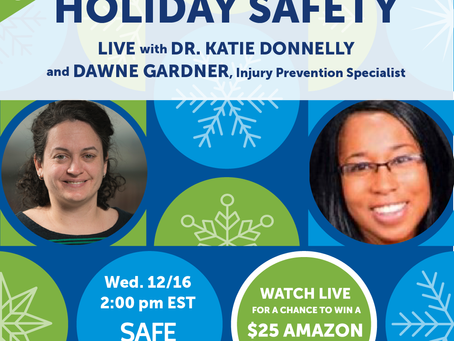 Holiday Safety: Tips to Help Keep Kids Safe and Give Parents a Little Peace of Mind