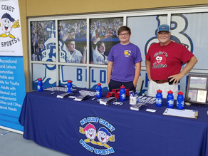 Buddy Sports participants enjoy Shuckers game