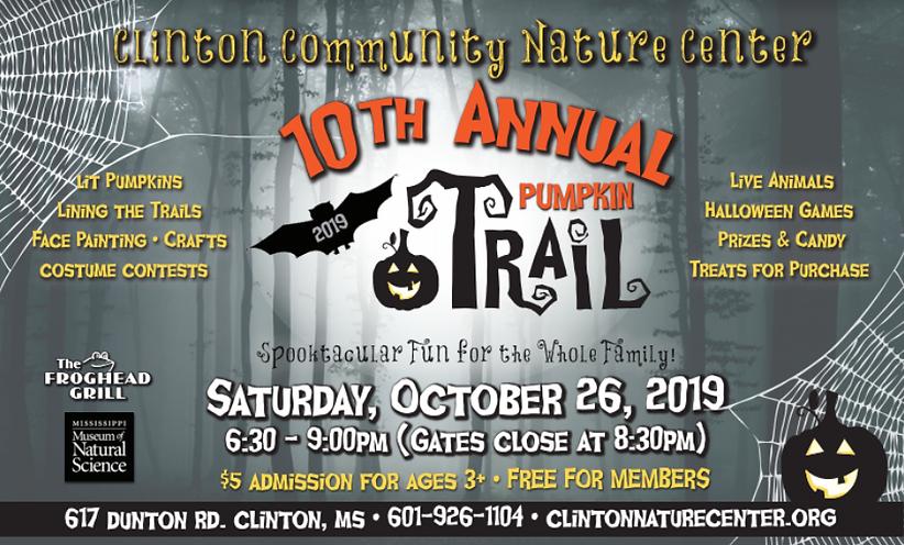 CCNC Pumpkin Trail Event