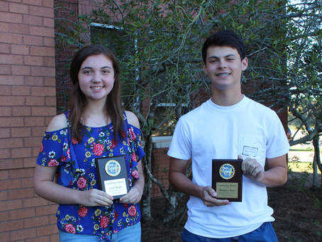 Richland High School October Leadership and Students of the Month Awards