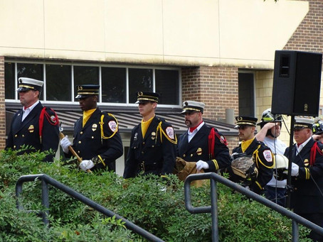 Statewide memorial service honors fallen firefighters