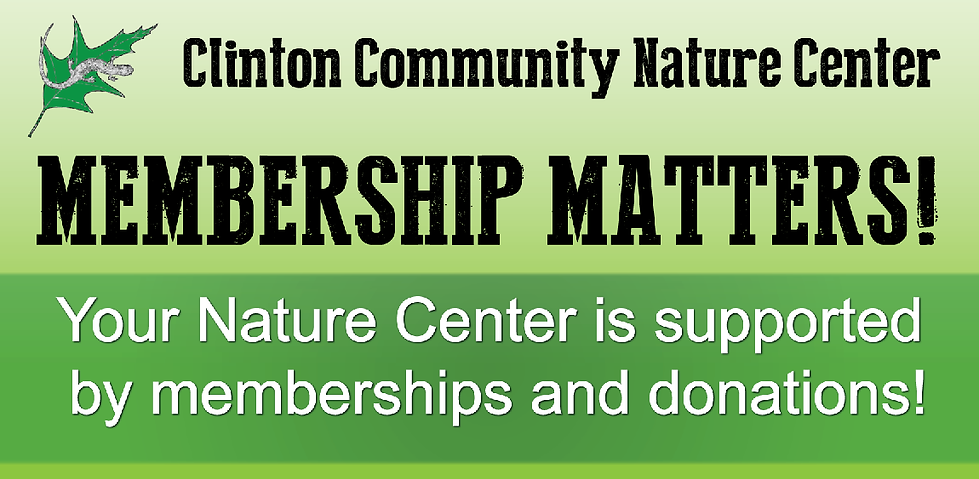 Clinton Nature Center Membership Matters