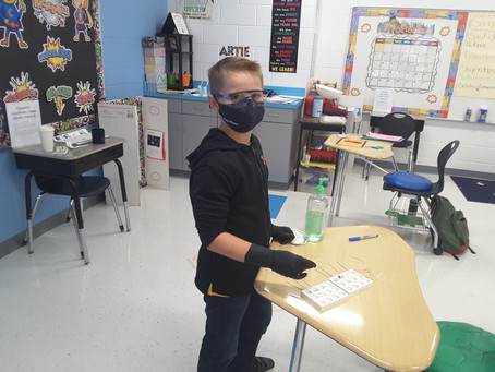 Pearl Upper Elementary Quest Students Study Criminology