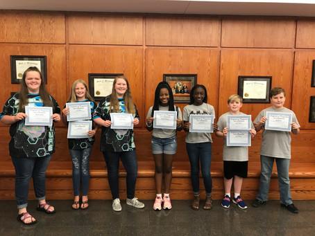 Richland Jr. Beta students recognized