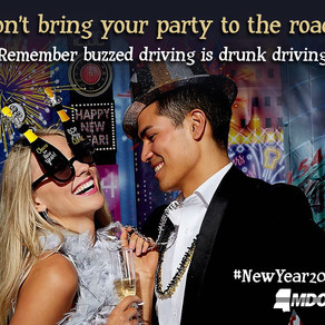 Ring In 2021 With Sober Driving