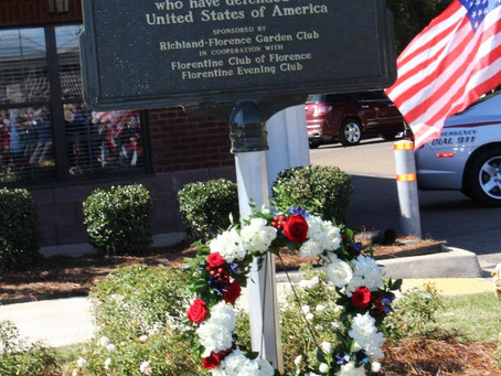 Richland-Florence Garden Club honors local military