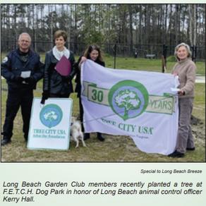 Garden Club beautifies Long Beach