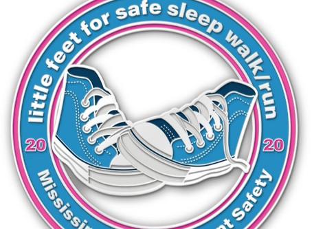 Little Feet for Safe Sleep Virtual 5K/10K Run/Walk 2020