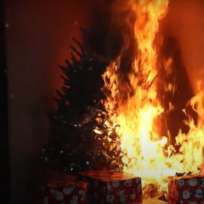 KEEP TREES WELL-WATERED TO AVOID FIRE THIS CHRISTMAS