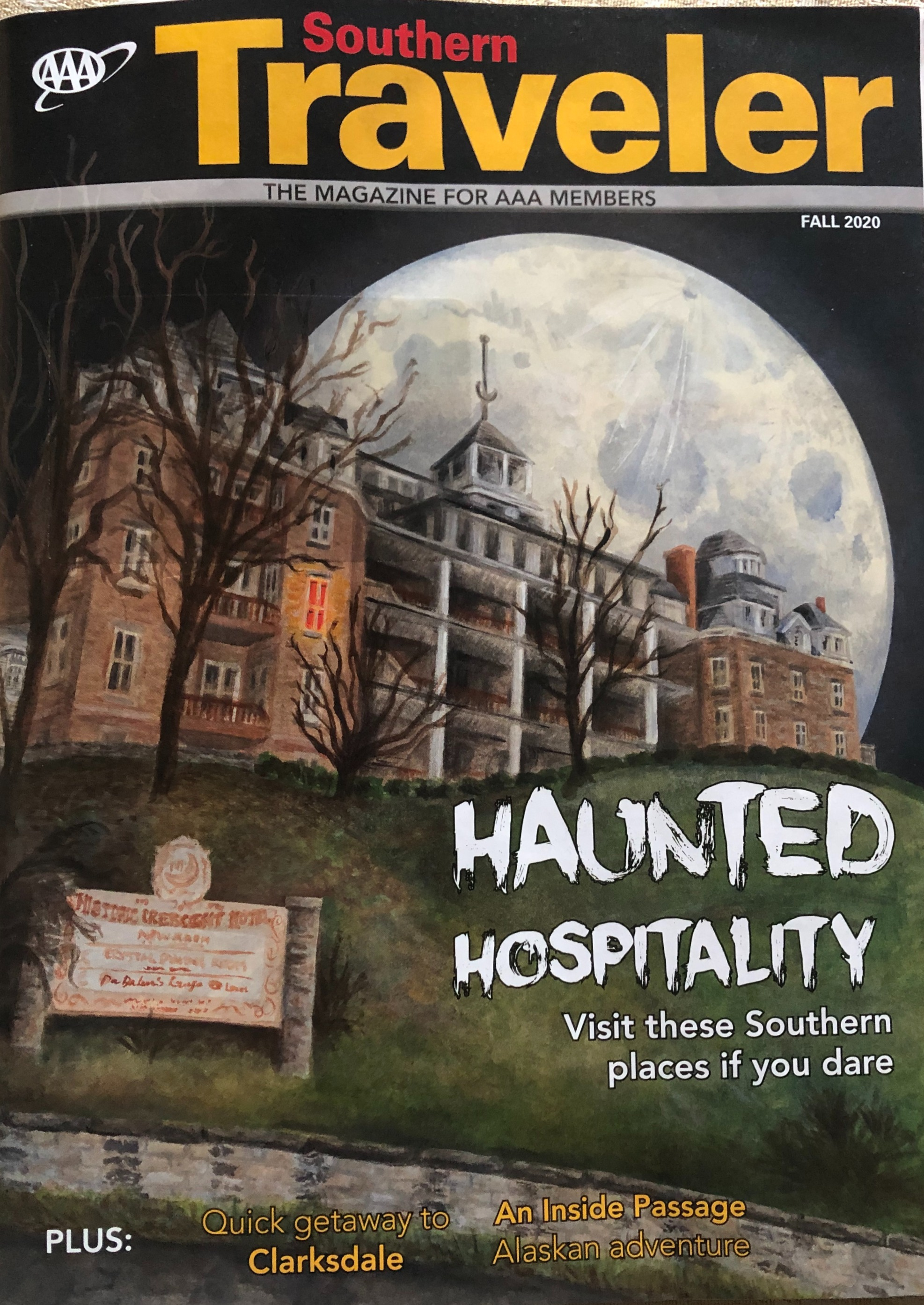 "Southern Traveler: ""Haunted Hospitality"""