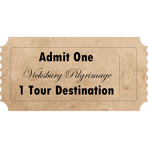 2020 Spring Vicksburg Pilgrimage Tour - 1 Destination