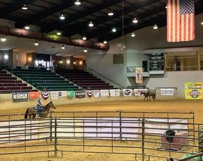 Mississippi State Fairgrounds Hosts the Annual MEGA Barrel Race