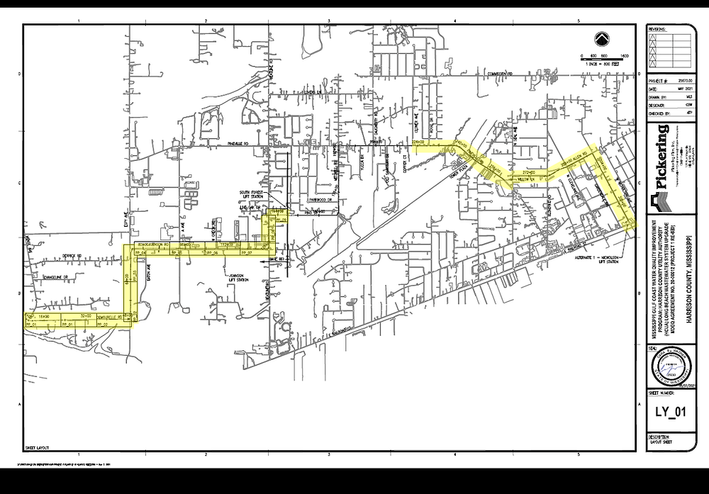 Harrison County Utility Authority infrastructure project
