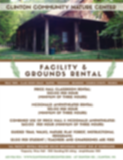Clinton Nature Center Facility Rental