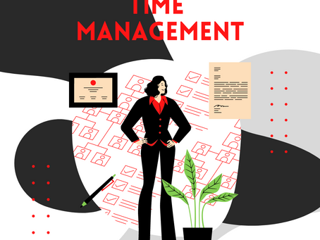 Three steps on how to manage your time.