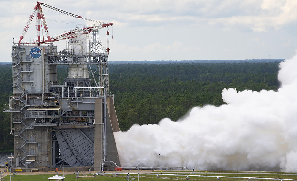 RS-25 single-engine test