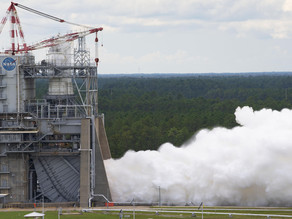 NASA Readies for Future Artemis Moon Missions with Rocket Engine Test Series