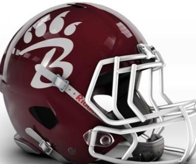 Long Beach Bearcats football helmet
