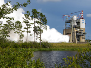 NASA conducts 5th test in RS-25 series supporting Artemis
