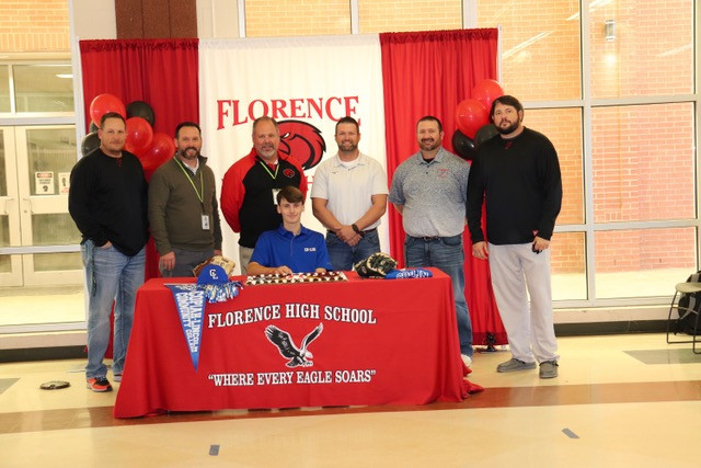 Kade May signs letter of intent to play baseball for Copiah Lincoln Community College