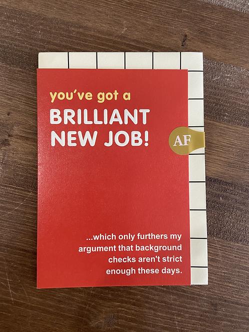 SN23 - YOUVE GOT A BRILLIANT NEW JOB!