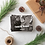 Thumbnail: RETRO HAPPY HOLIDAYS - 5x7 FLAT GREETING CARD