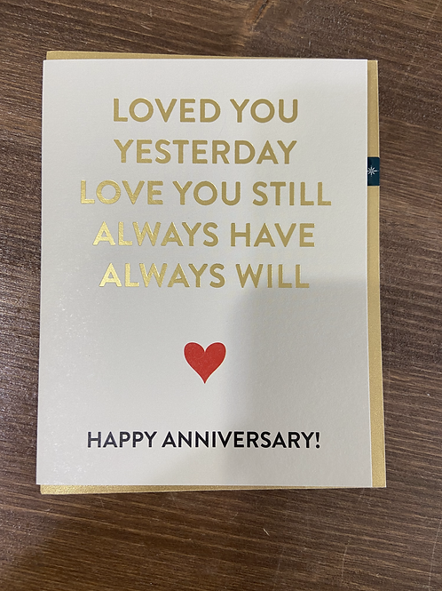 HPST20189 - LOVED YOU YESTERDAY