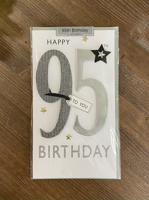 JGS658 - HAPPY 95TH BIRTHDAY TO YOU