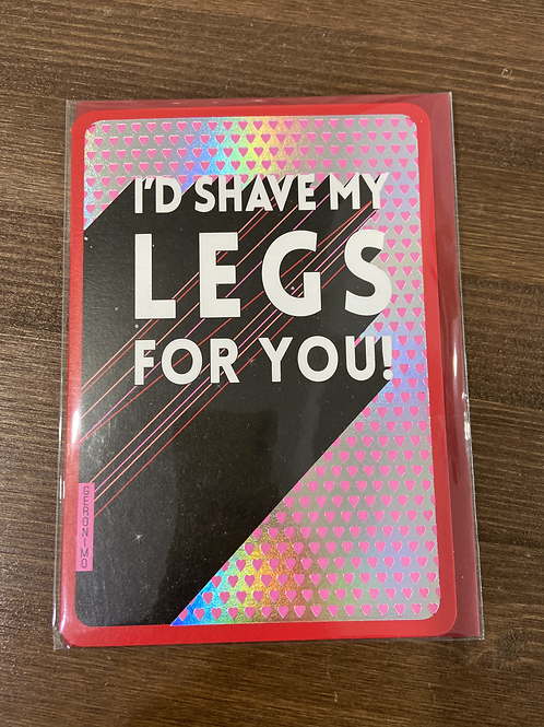 AF - I'D SHAVE MY LEGS FOR YOU!