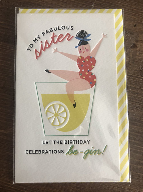 RPR02 - TO MY FABULOUS SISTER, LET THE BIRTHDAY CELBRATIONS BE-GIN!