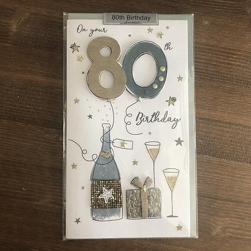 JGS584 - 80TH BIRTHDAY