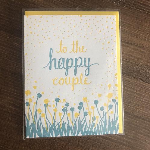 TTW1498 - TO THE HAPPY COUPLE