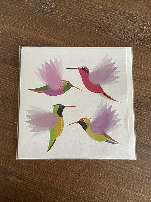 BR08 - I LIKE BIRDS HUMMINGBIRDS