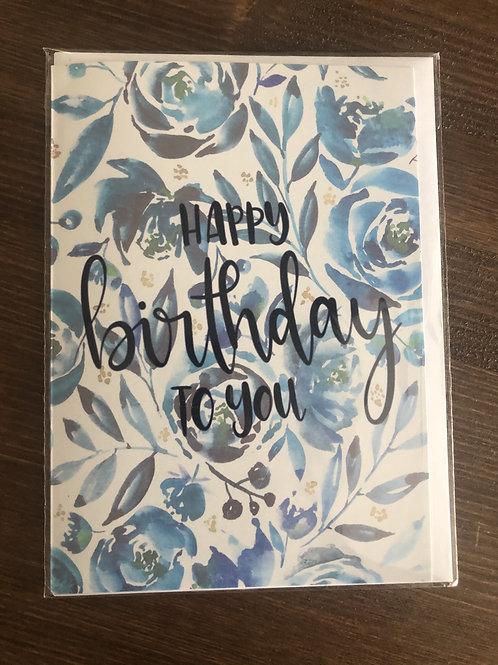 PP07 - HAPPY BIRTHDAY TO YOU