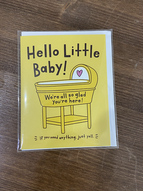 HPAS20144 - HELLO LITTLE BABY!
