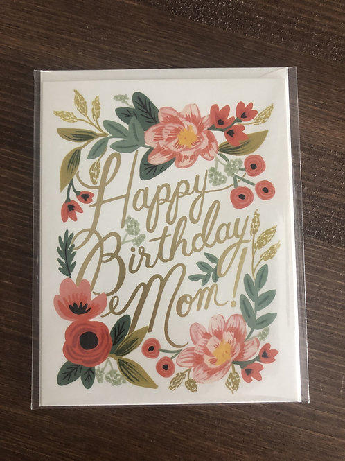 GCB025- HAPPY BIRTHDAY MOM!